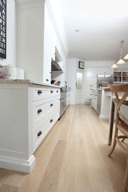 shaker kitchen lime wash oak floor marble benchtop oak timber flooring timber flooring