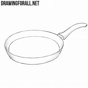 How to Draw a Pan | DrawingForAll.net