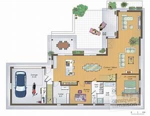 maison en bois 1 detail du plan de maison en bois 1 With plan maison etage 100m2 15 plan maison moderne en bois chaios