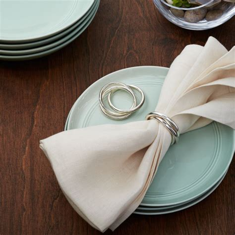 ring napkin ring reviews crate  barrel