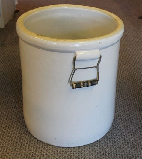 Bargain John's Antiques   10 Gallon Western Crock with