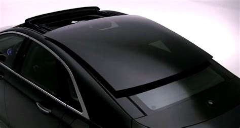 lincoln mkz shows   massive panoramic roof video