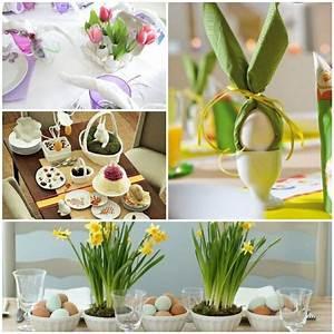Tischdeko Für Ostern : oster tischdeko tischdeko ostern basteln ostern tischdeko ~ Watch28wear.com Haus und Dekorationen