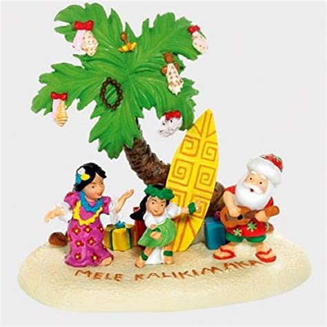 hawaiian christmas decorations  ornaments