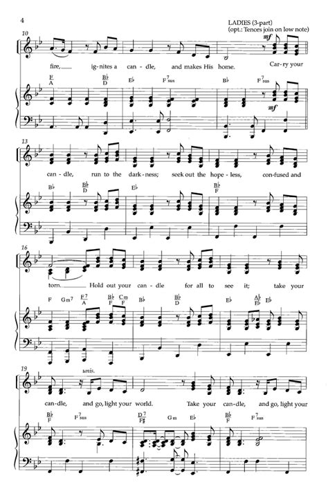 go light your world satb by chris rice ar j w pepper