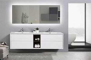 meuble de salle de bain flora 1900 blanc mat avec With meuble de salle de bain espagne