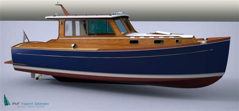 Wooden Utility Boat Plans by Classic Delta 29 Woodenboat Magazine