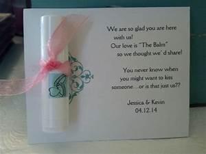 lip balm wedding favor wedding 2 jk pinterest With lip balm wedding favors