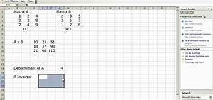 Inverse Matrix Berechnen 3x3 : how to do matrix multiplication and inverse in ms excel microsoft office wonderhowto ~ Themetempest.com Abrechnung