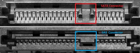 Comparison Between Sata And Sas Hdd Connector