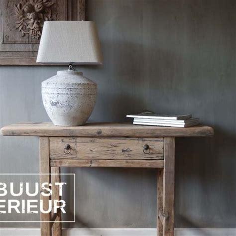 interieur ideeen robuust houten meubels robuust interieur nieuwe huis