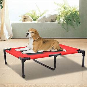 new pawhut indoor outdoor portable pet bed aosomca With no tear dog bed