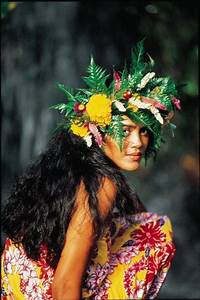 Beautiful Tahitian woman | Tahiti - People & Culture ...