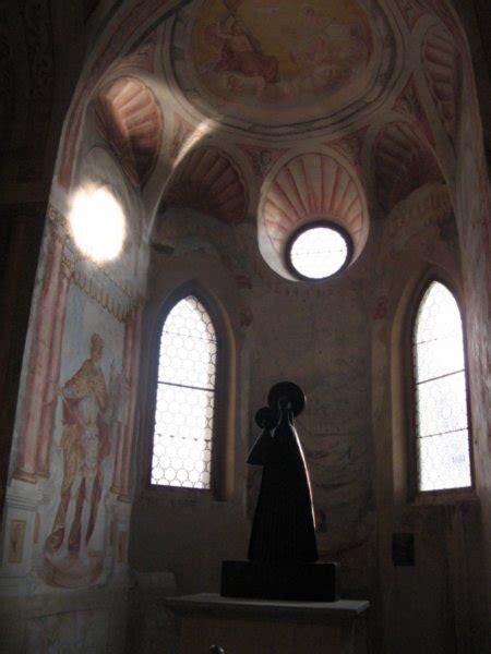 lake bled castle chapel interior photo
