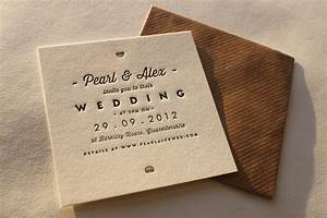 Letterpress the next level paperlust for Letterpress machine wedding invitations