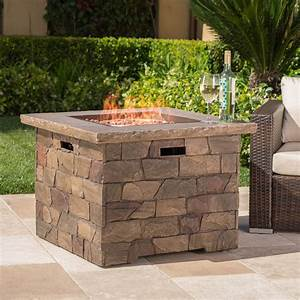 Stillwater, Outdoor, Square, Natural, Stone, Fire, Pit, -, Walmart, Com