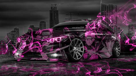 bmw  anime aerography naruto city car  el tony