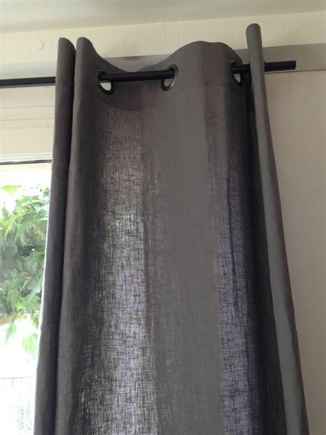 rideaux en 100 gris schiste atelier virginie morel at home
