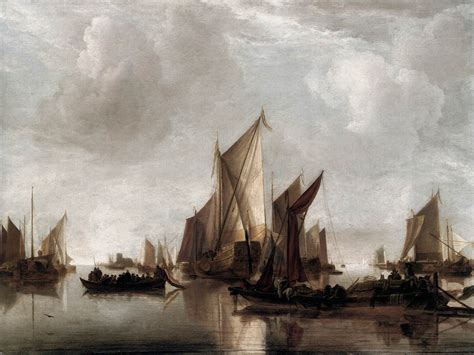 craft restaurant nyc a state yacht and other craft in calm water by cappelle 1626