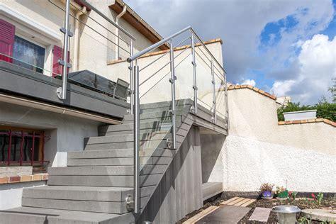 garde corps inox designbalustrade terrasse ext 233 rieure