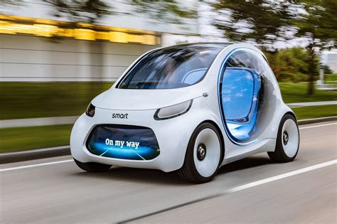Smart Vision EQ ForTwo concept: how 2030 will benefit ride ...
