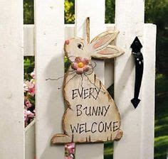 Wooden Primitive Easter Decor by Easter On 195 Pins
