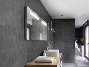 lambris pvc le revetement mural et plafond deco With salle de bain en lambris pvc