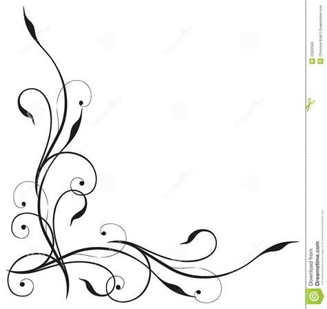 tendril black elegant royalty  stock photo image
