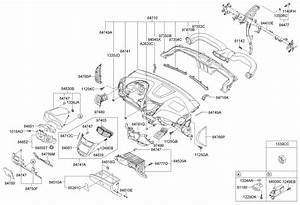 Hyundai Accent Cover Assembly - Fuse Box