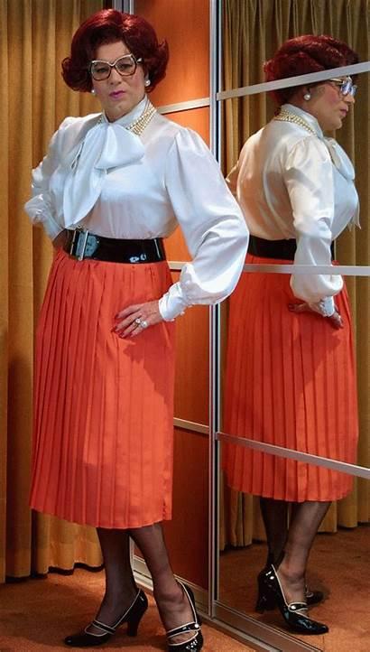 Pleated Nylons Skirts Skirt Plastic Wearing Dresses
