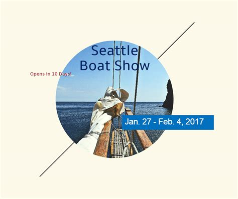 Seattle Boat Show Kirkland by The Seattle Boat Show Is Coming 187 Smart Real Estate
