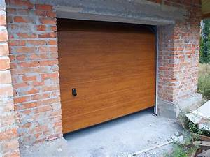 prix moyen des portes de garage pose et motorisation comprise With porte de garage et porte simple en bois