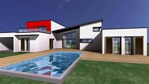 Plan 3d Maison Exterieur