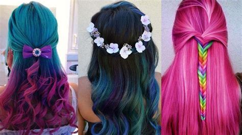 amazing hair color transformation beautiful
