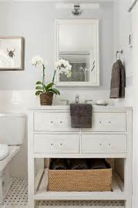 Gray and White Classic Bathrooms