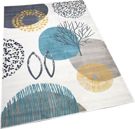 blue rug ebay modern contemporary colours floral grey blue
