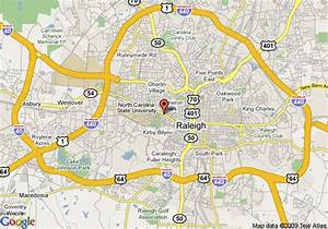 Map of DoubleTree by Hilton Hotel Raleigh - Brownstone ...