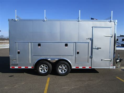 Rugged Race Products by Contractor Trailers Custom Enclosed Cargo Trailers And