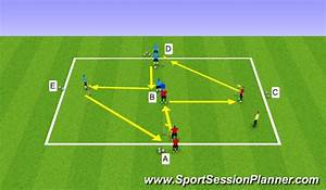 Football  Soccer  Passing Diamonds  Technical  Passing