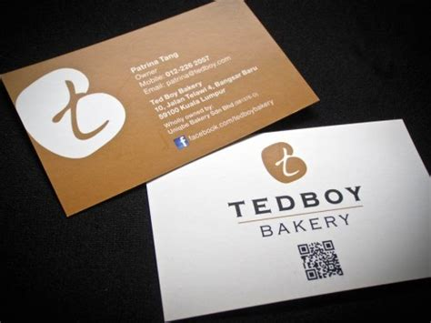 Tedboy Bakery Logo Design Business Card Reader App Zapier Artist Info Pop Art Blank Template Ai Free Format Vertical Apple Web
