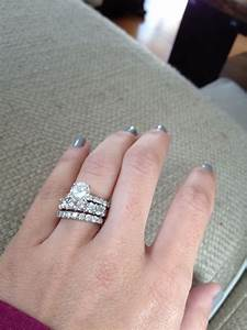 first anniversary band my hubby is too good to me With first wedding ring