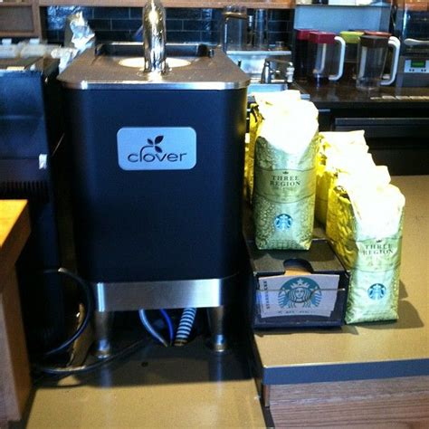 The clover coffee machine will be installed in 80 starbucks by the end of 2008. They have a Clover machine! For single-origin awesomeness, check it out.   Espresso drinks, Best ...