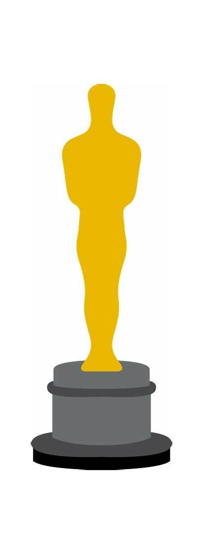 Clipart Oscars Oscar Hollywood Silhouette Awards Academy
