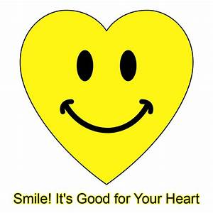 Your Smile is Good for Your Heart! | Smiley Symbol