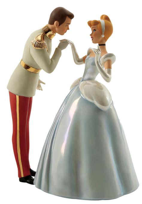 walt disney figurines prince charming cinderella