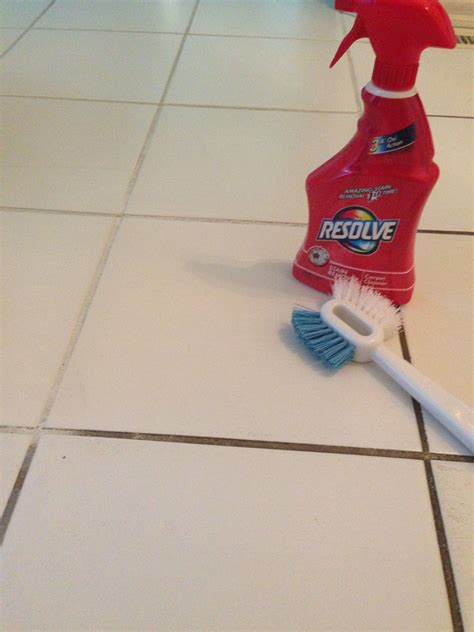 resolve carpet cleaner  clean grout hydrogen peroxide