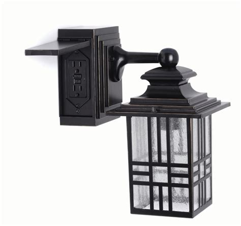 outdoor light with outlet outdoor lighting solar led more the home depot canada