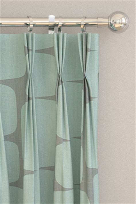 lohko curtains  scion mist  graphite wallpaper direct