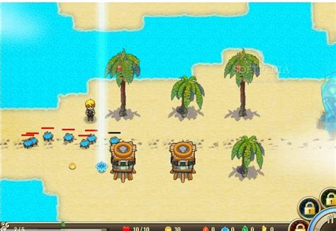 castaway island tower defense android