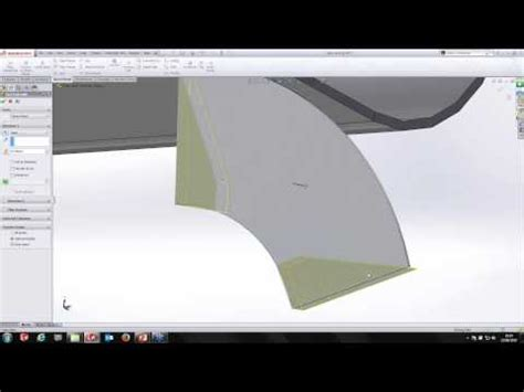 using advanced sheet metal functionality in solidworks youtube